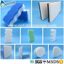 New Products Custom Flower Shape Wholesale Magic Sponge Scourer